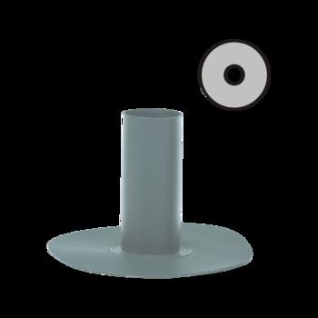 Круглый аварийный перелив с приваренным фартуком из ПВХ-мембраны  круглый аварийный перелив