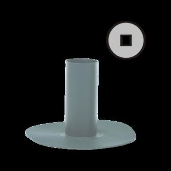 Круглая парапетная воронка с приваренным оригинальным фартуком  круглая парапетная воронка