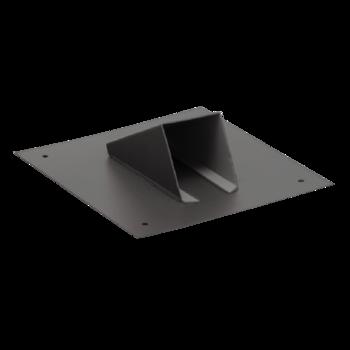 Вентиляционный выход для канализационных стояков XL с приваренным фартуком из ПВХ-мембраны  вентиляционный выход XL