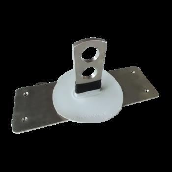 Крепление для системы снегозадержателей из труб  крепление для системы снегозадержателей из труб