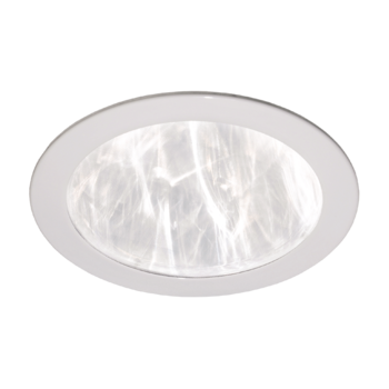 Потолочный диффузор пластиковый белый плоский