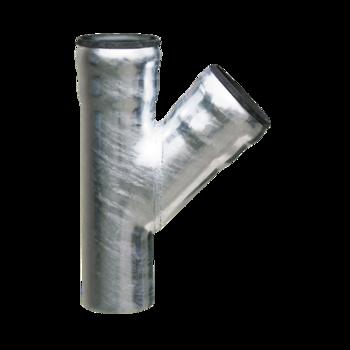 Ответвление для водосточной трубы LORO 45°
