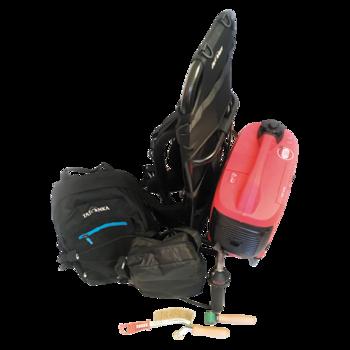 Портативный аппарат для сварки горячим воздухом Leister с силовой установкой  портативный сварочный аппарат