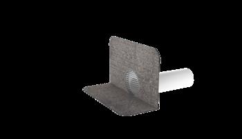 Вентиляционный выход для канализационных стояков XL с приваренным битумным фартуком  вентиляционный выход XL