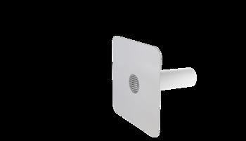 Круглый аварийный перелив с приваренным фартуком из ПВХ-мембраны