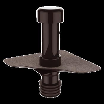 Террасная воронка вертикальная с приваренным оригинальным фартуком  вертикальная