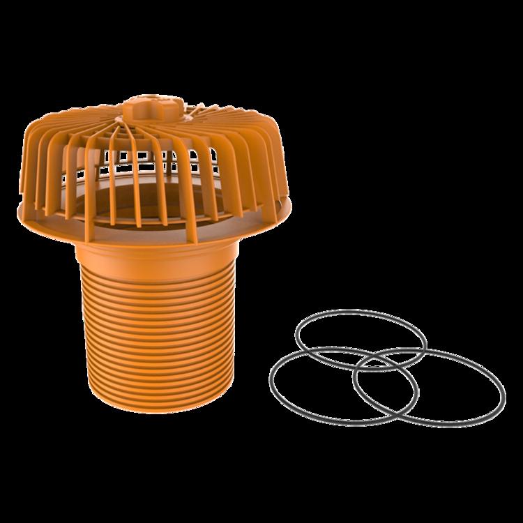 Аварийный перелив для водоотведения на поверхности