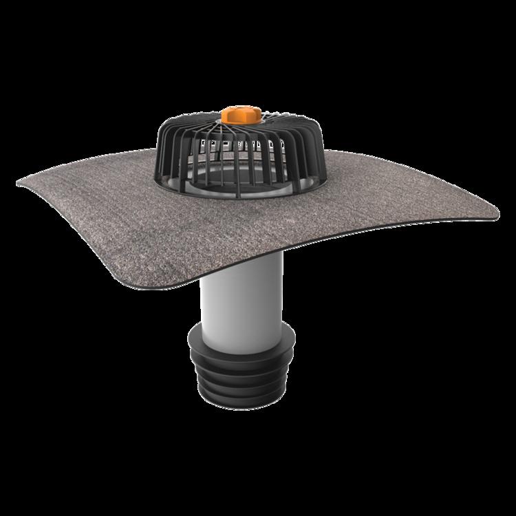 Ремонтная воронка вертикальная с приваренным битумным фартуком