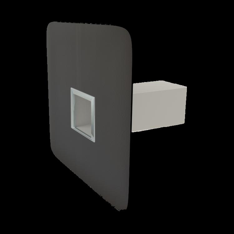 Аварийный перелив квадратного сечения с приваренным оригинальным фартуком аварийный перелив квадратного сечения